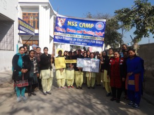 NSS Camp, 9 January, 2017 to 15 January, 2017